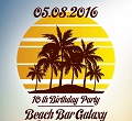 10th Birthday Party Beach Bar Galaxy